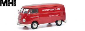 Schuco 450785300 VW T1 Kastenwagen PORSCHE dunkelrot   MHI   Automodell 1:32 kaufen