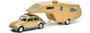 Schuco 450903800 VW Käfer mit Wohnauflieger | Automodell 1:43 kaufen