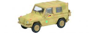ausverkauft | Schuco 452625400 Wolf G flecktarn ISAF | Militaria 1:87 kaufen