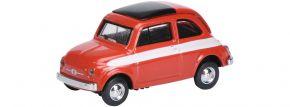 Schuco 452627200 Fiat 500 Rallye rot | Modellauto 1:87 kaufen