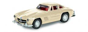 Schuco 452639300 MB 300SL Coupe, beige | Modellauto 1:87 kaufen