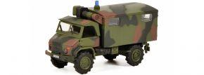 Schuco 452652800 Unimog S404 Bundeswehr | Militärmodell 1:87 kaufen
