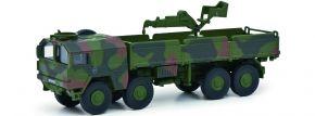 Schuco 452658500 MAN 10t GL mit Kran BW | Militär Modell 1:87 kaufen