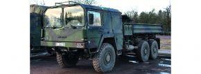 Schuco 452658700 MAN 7to KAT Kipper flecktarn BW | Militär Modell 1:87 kaufen