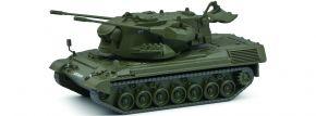 Schuco 452658800 Gepard Flakpanzer matt oliv | Militär Modell 1:87 kaufen