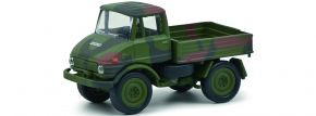 Schuco 452658900 Unimog U406 BW | Militär Modell 1:87 kaufen