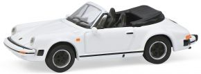 Schuco 452659800 Porsche 911 Carrera 3.2 Cabrio weiss | Automodell 1:87 kaufen