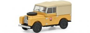 Schuco 452662200 Land Rover 88 PTT gelb | Automodell 1:87 kaufen