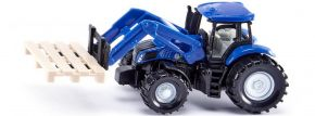 siku 1487 New Holland mit Palettengabel und Palette | Traktormodell kaufen
