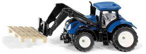 siku 1544 New Holland mit Palettengabel | Traktormodell kaufen