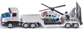 siku 1610 Polizei Tieflader mit Hubschrauber | LKW Modell kaufen