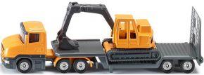 siku 1611 Tieflader mit Bagger | LKW Modell kaufen