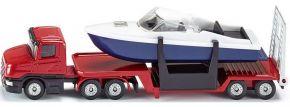 siku 1613 Tieflader mit Boot | LKW Modell kaufen
