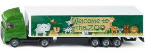 siku 1627 Koffer-Sattelzug Zoo | LKW Modell kaufen