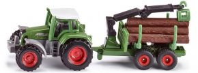 siku 1645 Fendt Traktor mit Forstanhänger | Traktormodell kaufen
