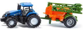 siku 1668 New Holland mit Feldspritze | Traktormodell kaufen
