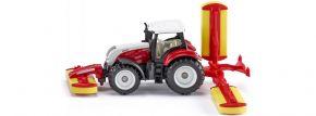 siku 1672 Steyr mit Pöttinger Mähwerkskombination | Traktormodell kaufen