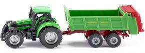 siku 1673 Deutz mit Universalstreuer | Traktormodell