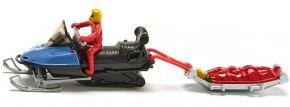 siku 1684 Snowmobil mit Rettungsschlitten | Blaulichtmodell kaufen