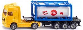 siku 1795 MB Actros mit Tankcontainer | LKW-Modell 1:87 kaufen
