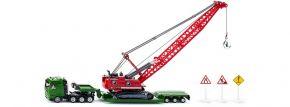 siku 1834 Schwertransporter Seilbagger und Zubehör  Baumaschinenmodell 1:87 kaufen