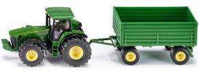 siku 1953 John Deere 8430 mit Anhänger | Traktormodell 1:50