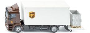 siku 1997 MAN UPS mit Kofferaufbau und Ladebordwand | LKW Modell 1:50 kaufen