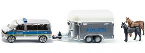siku 2310 VW T5 Polizei mit Pferdeanhänger   Blaulichtmodell 1:55 kaufen
