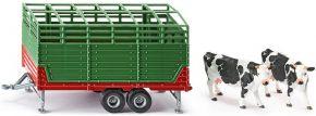 siku 2875 Viehanhänger mit 2 Kühen | Agrarmodell 1:32 kaufen