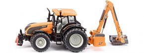 SIKU 3659 Valtra T191 mit Kuhn Böschungsmähwerk | Traktormodell 1:32 kaufen
