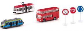 siku 6303 Geschenkset Nahverkehr | Bus + Bahn Modelle kaufen