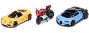 siku 6313 Geschenk-Set Sportwagen und Motorrad | Modellauto Set kaufen