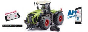 Siku 6791 Claas Xerion 5000 TRAC VC mit Bluetooth Schnittstelle | 1:32 | RC Traktor