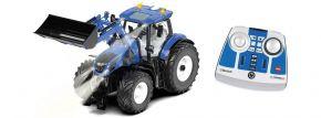 siku 6798 New Holland T7.315 mit Frontlader und Bluetooth-Steuerung | RC Traktor 1:32 kaufen