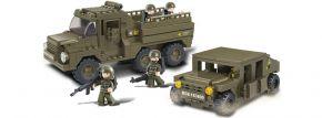 Sluban M38-B0306 Mobiler Aufklärungstrupp   Militär Baukasten kaufen