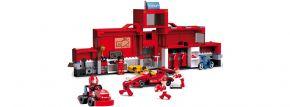 Sluban M38-B0375 Rennstall Truck mit Boxenstation | Rennsport Baukasten kaufen