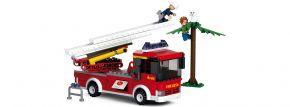 Sluban M38-B0625 Löschfahrzeug mit Drehleiter   Feuerwehr Baukasten kaufen