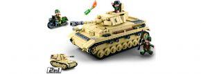 Sluban M38-B0693 WWII Großer Deutscher Panzer   Panzer Baukasten kaufen