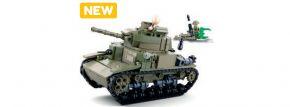 Sluban M38-B0711 Mittlerer Italienischer Panzer   Baukasten kaufen