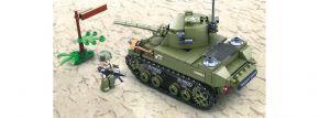 Sluban M38-B0856 WWII Leichter All. Panzer   Panzer Baukasten kaufen