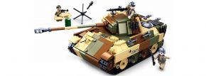 Sluban M38-B0859 Mittlerer Dt. Panzer (2in1)   Panzer Baukasten kaufen