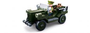 Sluban M38-B0682 WWII Alliierter leichter LKW ARMY   WWII Baukasten kaufen