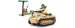 Sluban M38-B0691 WWII Kleiner deutscher Panzer ARMY   WWII Baukasten kaufen