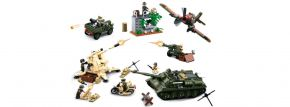 Sluban M38-B0697 WWII Kampf um Kursk ARMY   WWII Baukasten kaufen