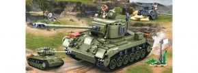 Sluban M38-B0860 WWII Mittlerer All. Panzer II 2in1   Panzer Baukasten kaufen