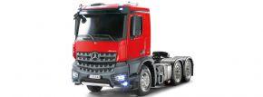 TAMIYA 23802 XB MB Arocs 3363 Rot/Grau Full Option | RC LKW RTR 1:14 kaufen
