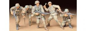TAMIYA 35196 Deutsche Infanterie beim Angriff Figuren Bausatz 1:35  kaufen
