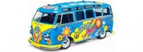 TAMIYA 47453 VW Bus T1 Flower Power M-05L | Auto Bausatz 1:10 kaufen