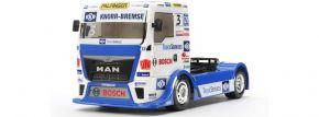 TAMIYA 51606 Karosserie-Satz Team Hahn Racing MAN TGS | für TT-01 + TT-02 Chassis kaufen