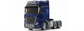 TAMIYA 56354 MB Actros 3363 6x4 GigaSpace Pearl Blue | LKW Bausatz 1:14 kaufen